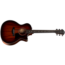 Taylor 324ce V-Class Acoustic-Electric Guitar - Shaded Edge Burst - Includes Hardshell Case