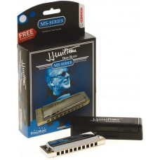 Hohner M501201X Jean Jacques Milteau Signature Model 501/20 MS In Key Of C  Harmonica - Signature Series
