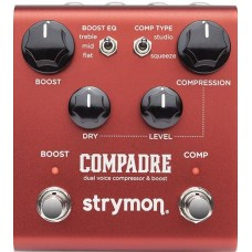 Strymon Compadre Dual Voice Compressor & Boost - Power Supply Included
