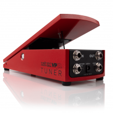 Ernie Ball P06202 VPJR Tuner And Volume Pedal - Red