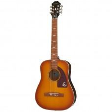 Epiphone Lil' Tex 1/2 Size Acoustic Guitar - Faded Cherry Sunburst - Include Gig Bag