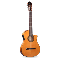 Alhambra 3F CT Flamenco Acoustic-Electric Guitar Gloss Natural