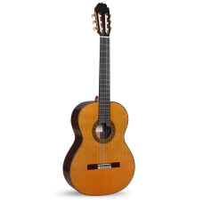 Alhambra Classical Guitar Luthier India Montcabrer Signature guitars - Solid Indian Rosewood / Solid Cedar