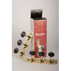 Alhambra Machine Heads nº3 - Gold Plated Riveted Pats