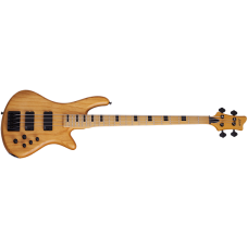 Schecter 4 Strings Electric Bass Guitar Stiletto-4 Session - Aged Natural Satin (ANS)