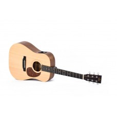 Sigma Guitars DSME Semi Acoustic Guitar - Include Softcase - Natural