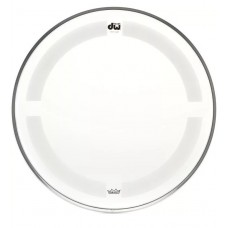 """DW Coated/Clear Drumhead - 10"""" - Batter"""