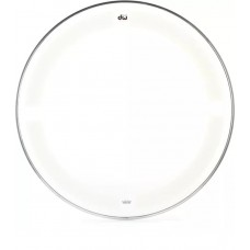 """DW Coated/Clear Drumhead - 16"""" - Batter"""