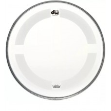 """DW Coated/Clear Drumhead - 8"""" - Batter"""