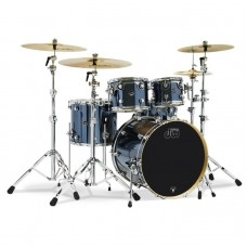 "DW Drum Set Performance Series 5-piece Shell Pack with 22"" Bass Drum ( Without Cymbals And Hardware ) - Shadow Chrome"