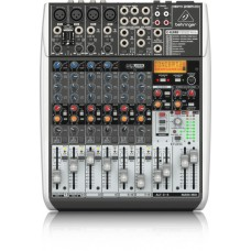 Behringer Premium 12-Input 2/2-Bus Mixer with XENYX Mic Preamps & Compressors, Klark Teknik Multi-FX Processor, Wireless Option and USB/Audio Interface