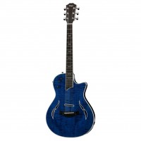 Taylor T5z Pro Hollowbody Electric Guitar - Pacific Blue - Included Taylor Hardshell case
