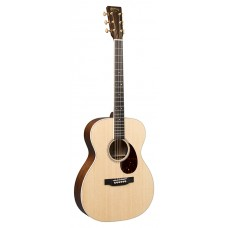 Martin Guitar OME Cherry Orchestra 000-14 Fret Acoustic-Electric Guitar - Natural - Martin Hardshell Case