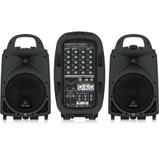 Behringer Europort PPA500BT 6-channel Portable PA System with Bluetooth