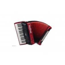 Hohner Accordion Bravo III 80 Bass - Red - A16432