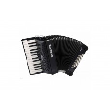 Hohner Accordion Bravo II 48 Bass - Black - A16522