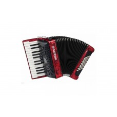 Hohner Accordion Bravo II 48 Bass - Black - A16532