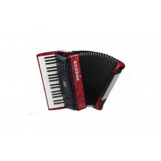 Hohner Accordion Bravo III 96 Bass - Red - A16732