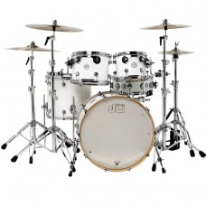 DW Drum Set Design Series 5-piece Shell Pack - Gloss White (Cymbals & Hardware Not Included)