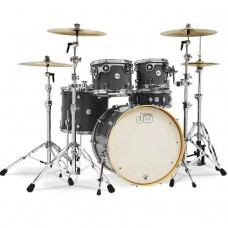 DW Drum Set Design Series 5-piece Shell Pack - Steel Gray (Cymbals & Hardware Not Included)