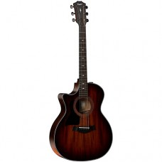 Taylor 324ce V-Class Left Handed Acoustic-Electric Guitar - Shaded Edge Burst - Includes Hardshell Case