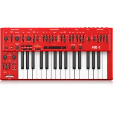 Behringer MS-1-RD Analog Synthesizer with Handgrip - Red