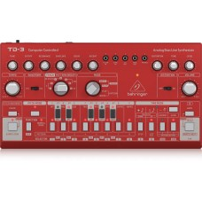 Behringer TD-3-RD Analog Bass Line Synthesizer - Red