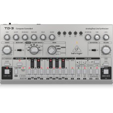 Behringer TD-3-RD Analog Bass Line Synthesizer - Silver