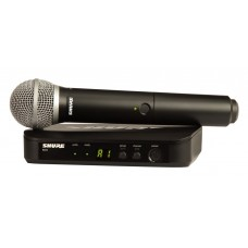 Shure BLX24/PG58 Wireless Handheld Microphone System - J11 Band