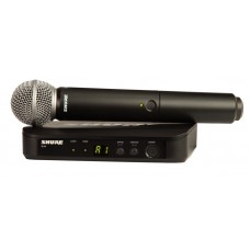 Shure BLX24/SM58 Wireless Handheld Microphone System - J11 Band