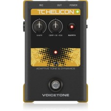 TC-Helicon VoiceTone T1 Vocal Tone and Dynamics Effects Pedal