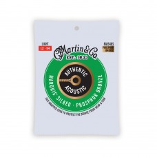 Martin Authentic Acoustic Marquis Silked Guitar Strings - 92/8 Phosphor Bronze Light - 012 -.054 - MA540S