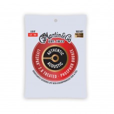 Martin Authentic Acoustic Lifespan 2.0 Treated Guitar Strings - .012-.054 - 92/8 Phosphor Bronze Light - MA540T