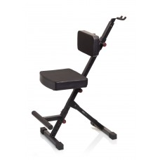 Gator Frameworks GFW-GTR-SEATDLX Deluxe Guitar Seat with Single Hanging Guitar Stand