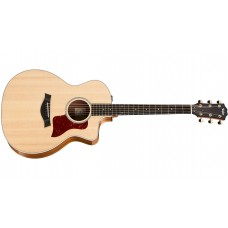 Taylor 214ce Deluxe - Grand Auditorium -  Acoustic-Electric Guitar - Natural with Layered Rosewood Back And Sides - Includes Taylor Deluxe Hardshell
