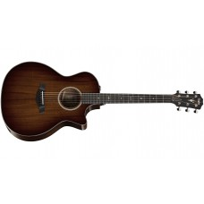 Taylor 524ce V-Class - Grand Auditorium - Shaded Edgeburst, Mahogany Back and Sides - Includes Taylor Deluxe Hardshell