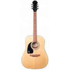 Epiphone DR-100 Dreadnought Acoustic Left-handed - Natural - Includes Free Softcase