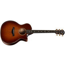 Taylor Guitar 614ce Builder's Edition V-Class - Grand Auditorium - Wild Honey Burst - Includes Taylor Deluxe Hardshell Brown
