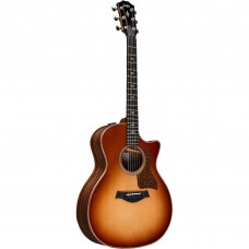 Taylor Guitar 714ce V-Class - Grand Auditorium - Western Sunburst Lutz Spruce Top - Includes Taylor Deluxe Hardshell Brown
