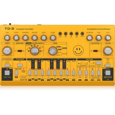 Behringer TD-3-RD Analog Bass Line Synthesizer - Yellow