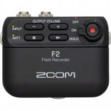 Zoom F2 Field Recorder And Lavalier Microphone - Black