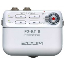 Zoom F2 Field Recorder And Lavalier Microphone - White