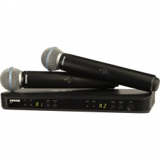 Shure BLX288/B58 Dual Channel Wireless Handheld Microphone System - J11 Band