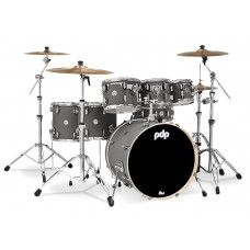 PDP Concept Maple Shell Pack - 7-piece Drum set - Satin Pewter ( WITHOUT CYMBALS )