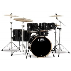 PDP Concept Maple Shell Pack - 7-piece Drum set - Carbon Fiber ( WITHOUT CYMBALS )