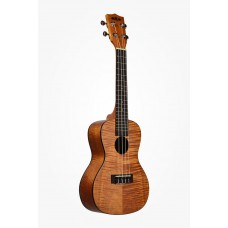 Kala Exotic Mahogany Series Concert  Ukulele - Included Bag - Brown