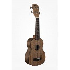 Kala Pacific Walnut Series Soprano Ukulele - Included Bag