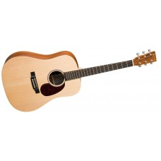 Martin guitar DX1KAE Solid Top Dreadnought Acoustic Electric - Koa Back and Sides - Includes Free SC11 Hard Shell Case